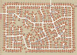 Tamarron Pines Map
